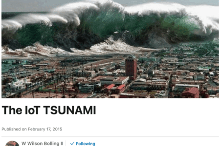 Thought you would like this image! The IoT Tsunami