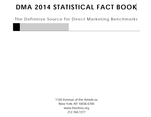 DMA 2014 Statistical Fact Book, Chapter 8: Mobile Marketing