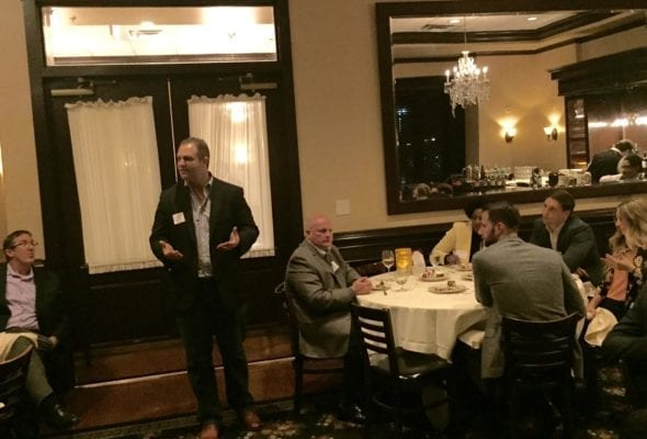 A Night Out with Restaurant Executives, a Waterfall Sponsored Dinner & Cocktail Reception in Atlanta