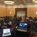 Michael Becker Presentation & Crowd